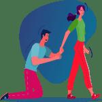 طلاق یکطرفه زوجه